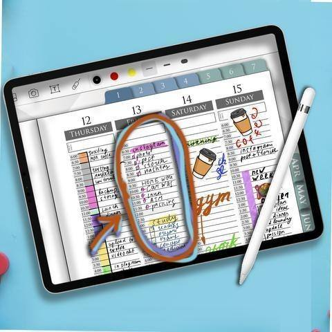 Digital Planning in iPad Pro Air and Mini Tutorial - iPad Planner