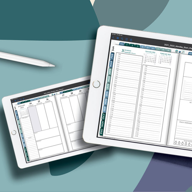 Digital Business GoodNotes planner