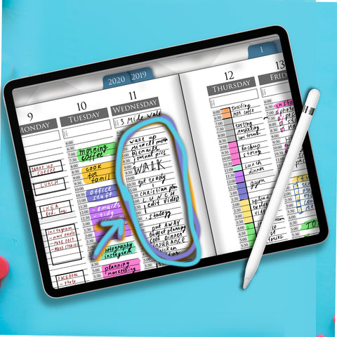 Digital iPad Planning - Journaling