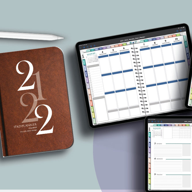 Goodnotes weekly digital planner for ipadplanning