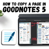 How To Copy A Page In GoodNotes 5