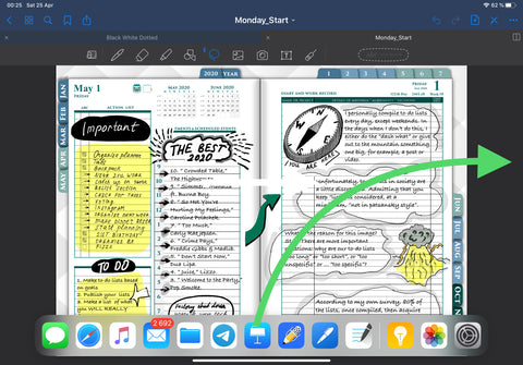 Goodnotes with keynote