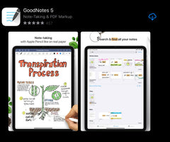 GoodNotes 5 app for note-taking in ipad ipadplanner.com