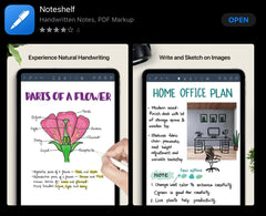 noteshelf app for note-taking in ipad ipadplanner.com