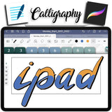 How To Do Calligraphy on GoodNotes like in Procreate