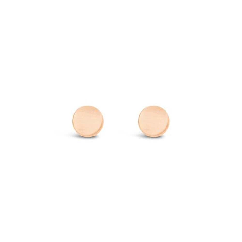 14KT GOLD FILL CIRCLE STUD EARRINGS