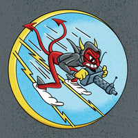 World War II Insignia - 337th Fighter Squadron - 8x8 Print