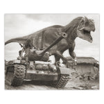 Alternate WW2 History - Allosaurus Print - 8x10