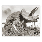 Alternate WW2 History - Triceratops Print - 8x10