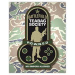 Battlefield - Teabag Society Badge Print - 8x10