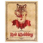 Game of Thrones - Red Wedding Invitation Print - 8x10