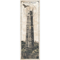 Lord of the Rings - Tower of Orthanc Print - 36x11.75
