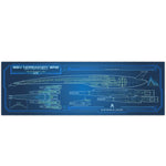 Mass Effect Normandy SR2 - Starship Schematic - 36x11.75