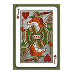Robin Hood - Playing Card Illustration - 5x7 inches