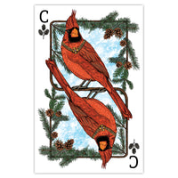 Royal Cardinal - Playing Card Print - 11x17
