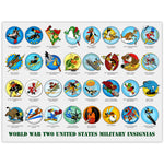 World War II Insignia Collection - 18x24