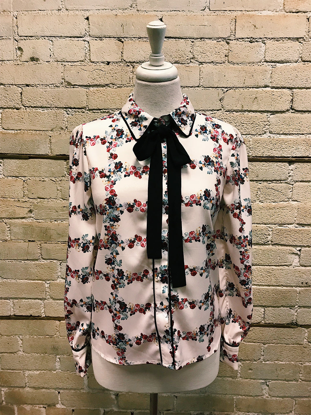 Fence of Roses Blouse