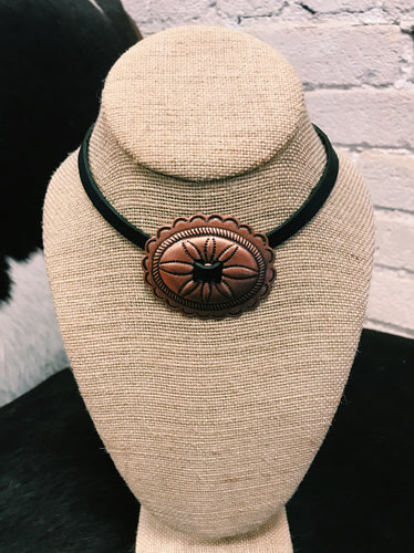 Western Choker Necklace