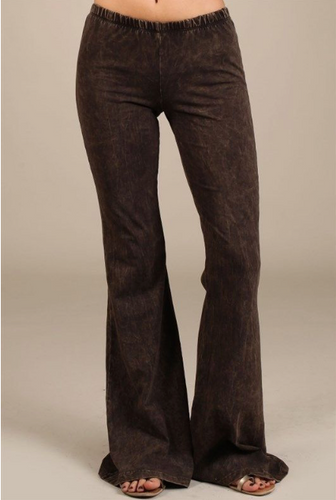 Brown Bell Bottoms
