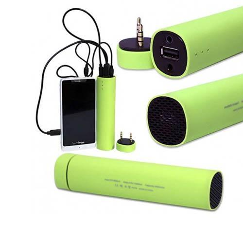 Powerbank 3 In 1 (4000mAh Power Bank+Portable Sound Blast Speaker+Smart Phone Stand)