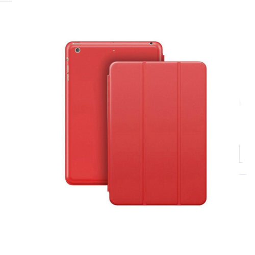 Margoun Tri-Fold Slim Leather Smart Case For Apple Ipad 2, 3, 4 - Red