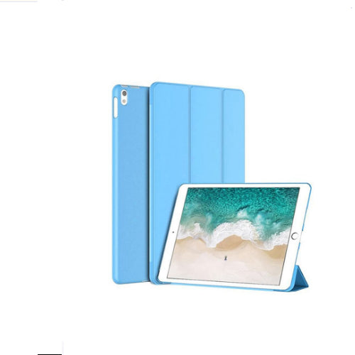 Margoun Tri-Fold For Apple Ipad Pro 12.9 Inch Pu Smart Case Cover - Blue