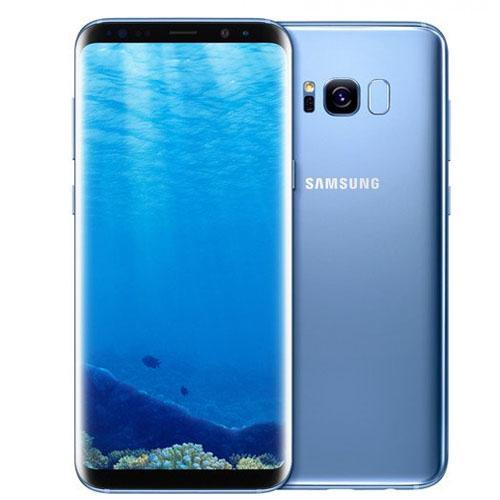 Samsung Galaxy S8 Plus Dual Sim - 64GB, 4G LTE (Coral Blue)