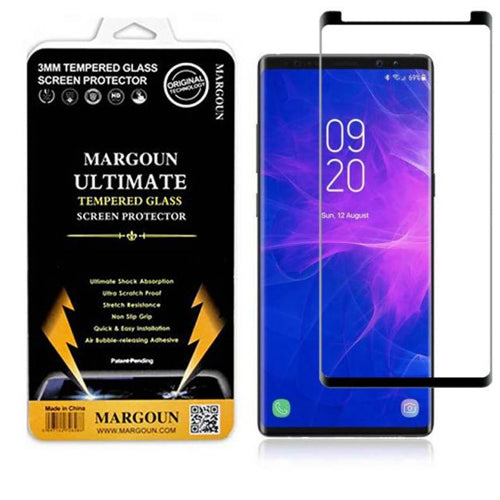 Margoun Tempered Glass Screen Protector For Samsung Galaxy Note 9 – Black