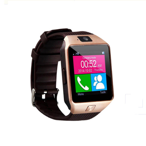 DZ09 Smartwatch With Camera Brown/Gold
