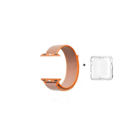Sport Loop Replacement Strap For Apple iWatch Orange 38/40 millimeter