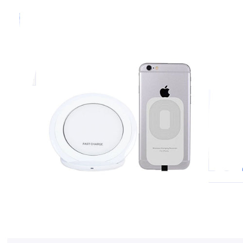 Lightning USB Wireless Charger For Apple iPhone White