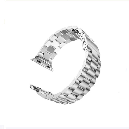 Replacement Stainless Steel Band With Axel Adapters For Apple Watch 44mm