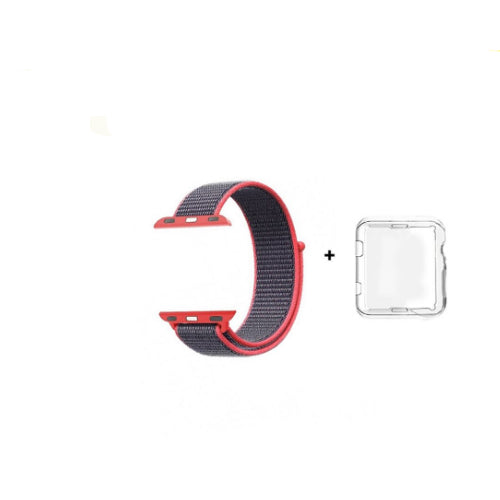 Sport Loop Replacement Strap For Apple iWatch Red 38/40 millimeter