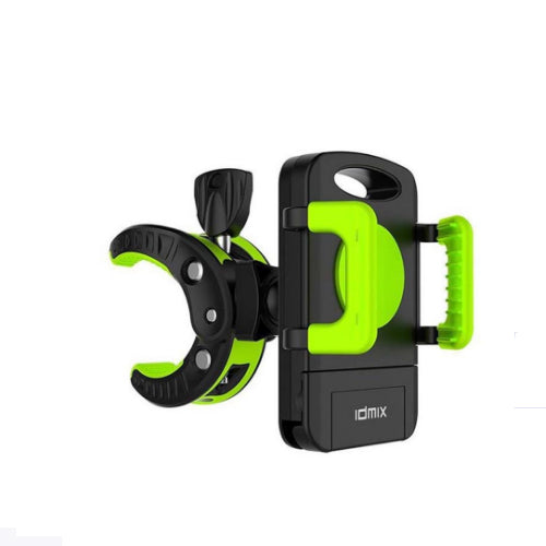 Idmix M03 360 Degree Rotation Bike Mount Phone Holder green