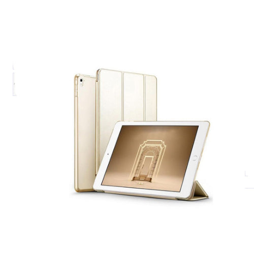Margoun Smart Case For Apple Ipad Pro 9.7 2016 Tri-Fold Stand Cover - Gold