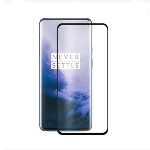3D Curved Tempered Glass Screen Protector For OnePlus 7 Pro Clear
