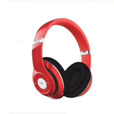 Bluetooth Over-Ear Headphone With FM Radio And Mic Red/Black