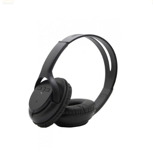 Bluetooth Over-Ear Headphone With FM Radio Black