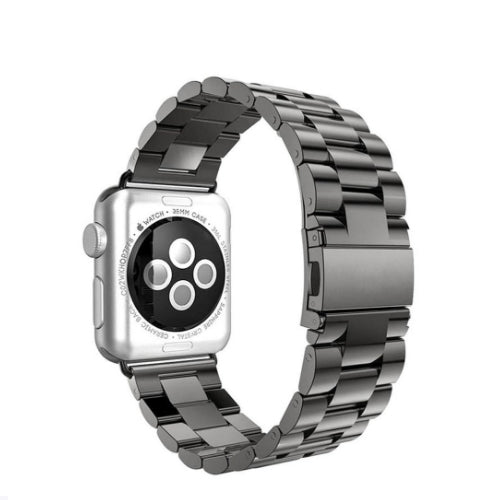 Axel Adapter Replacement Band For Apple Watch 38 mm Charcoal Black