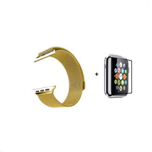 Band Strap For Apple Watch Gold 38/40 millimeter