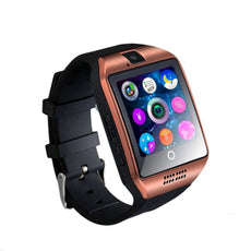 Bluetooth Smart Watch With SIM And Camera Rose Gold