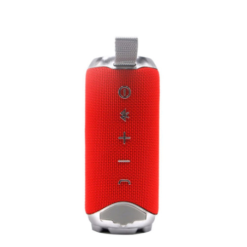 Flip 4 Plus Bluetooth Wireless Speaker With Hanging Strap Red/Silver