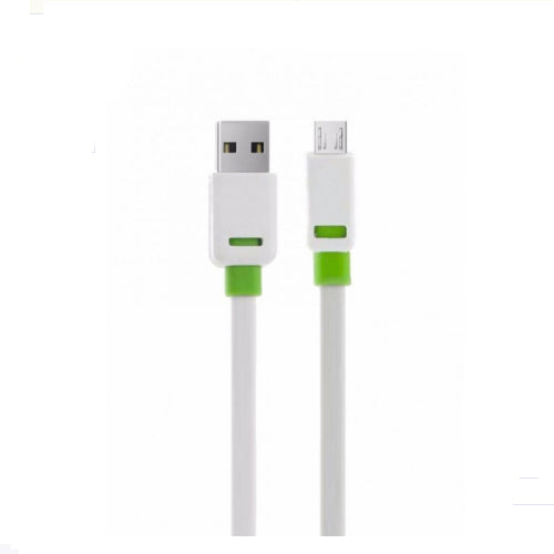 Tangle-Free Micro USB Cable White 2 meter