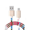 Colorful Graffiti Micro USB Cable Multicolour 1 meter
