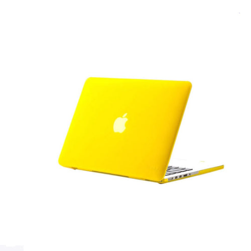 Hard Cover With Matching Keyboard Skin For Apple MacBook Pro 15.4-Inch Yellow