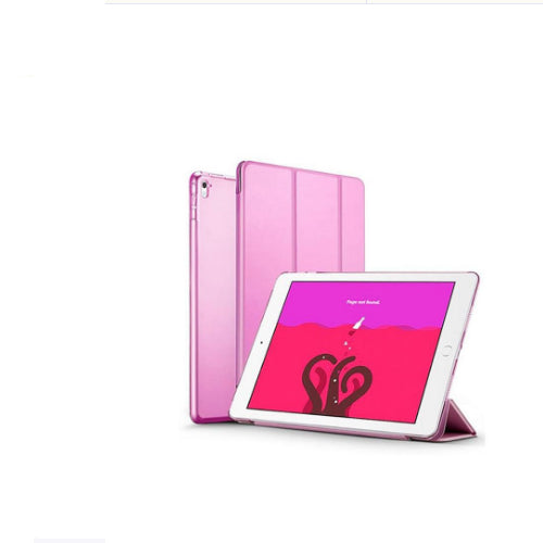 Margoun Smart Case For Apple Ipad Pro 9.7 2016 Tri-Fold Stand Cover - Pink