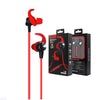 In-Ear Headphone With Wireless Bluetooth Technology Red