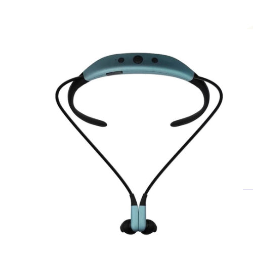 Wireless Stereo Bluetooth In-Ear Headset 100 mAh Blue/Black