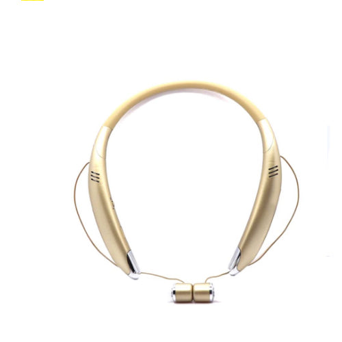 Wireless Bluetooth Stereo In-Ear Headphone 120 mAh Gold