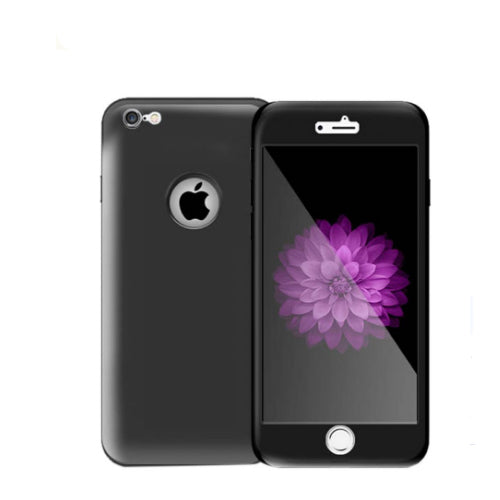 Silicone Protective Case Cover For Apple iPhone 6/6s Plus Black